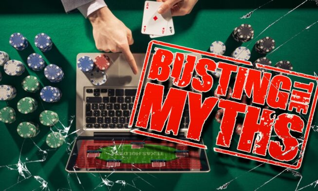 Busting 5 Common Online Gambling Myths