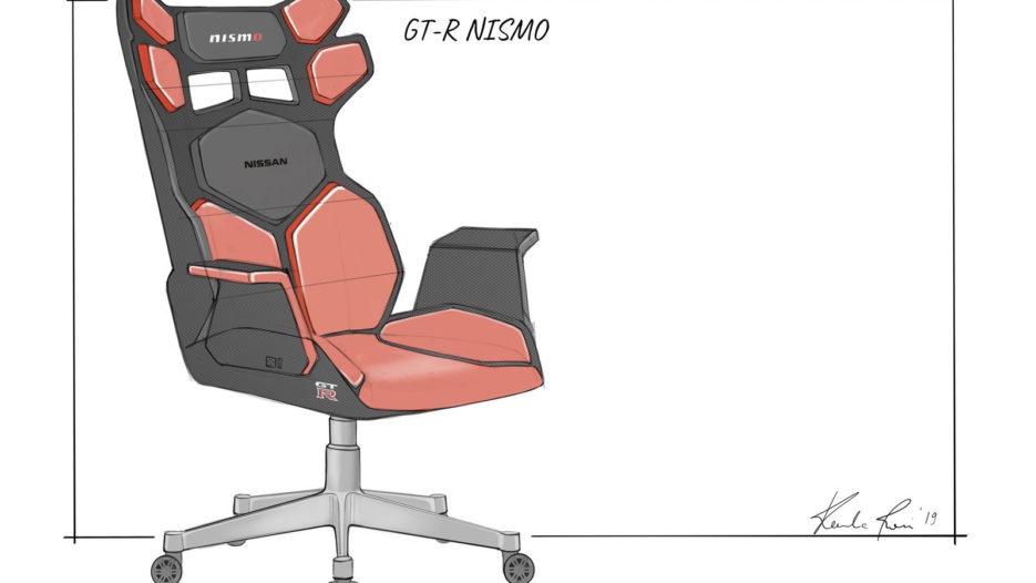Nissan Designs Car-Themed eSports Gaming Chairs