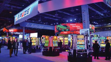 Aruze Gaming to debut Muso Curve-43 Hybrid Cabinet in Las Vegas