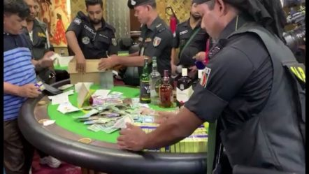 58 Arrested in Illegal Casino in Delhi, India