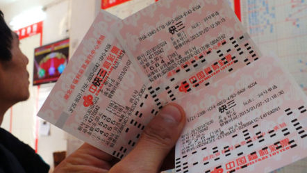 China's Lottery Sales Down By 5%