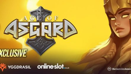 """Age of Asgard"" unveils by Yggdrasil Gaming Ltd: Betrnk Slots Feature"