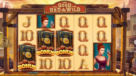 """The Good, The Bad and The Wild"" via Pariplay Limited: Betrnk Slot Features"