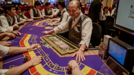 Macau starts casino ban for off-duty gaming staff