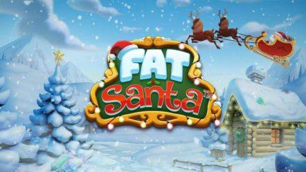 """Fat Santa"" produced by Push Gaming: Betrnk Slot Features"