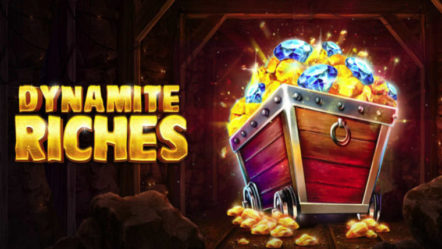 """Dynamite Riches"" produced by Red Tiger Gaming: Betrnk Slot Features"