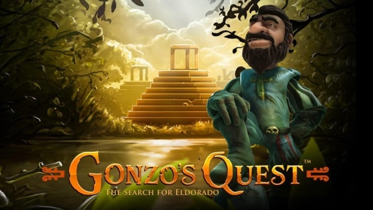 """Gonzo's Quest"" produced by NetEnt: Betrnk Slot Features"