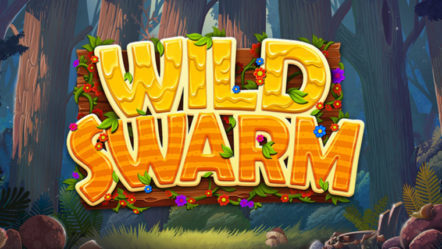 """Wild Swarm"" produced by Push Gaming: Betrnk Slot Features."