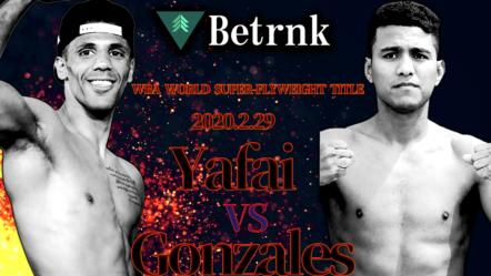 Khalid Yafai vs Roman Gonzales will fight for the WBA World Super-Flyweight title this weekend!