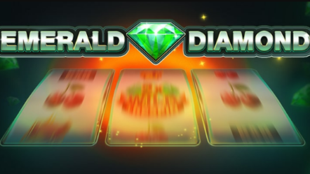 """Emerald Diamond"" created by Red Tiger Gaming: Betrnk Slot Features"
