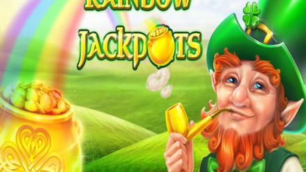 """Rainbow Jackpots"" produced by Red Tiger: Betrnk Slot Features"