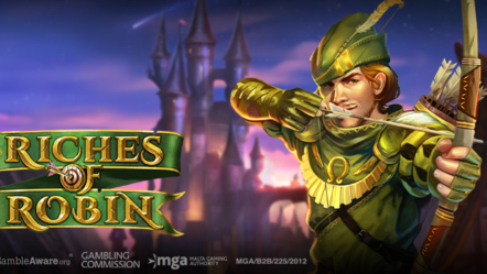 "Play'n GO releases innovative title with their latest adventure video slot ""Riches of Robin"""
