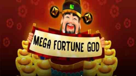 """Mega Fortune God"" produced by August Gaming: Betrnk Slot Features"