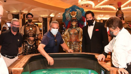 Las Vegas Casinos reopen after closure due to COVID-19