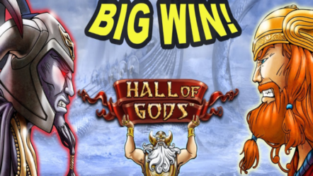 """Hall of Gods"" powered by NetEnt: Betrnk Slot Features"