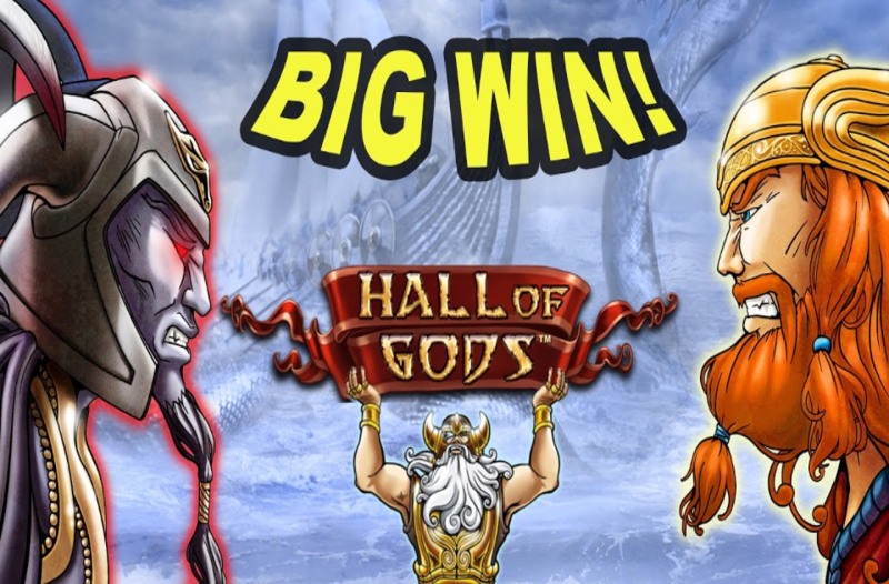 """""""Hall of Gods"""" powered by NetEnt: Betrnk Slot Features"""