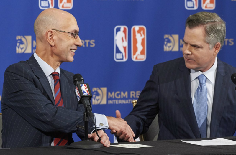 MGM Resorts International and the NBA becomes league's official gaming partner