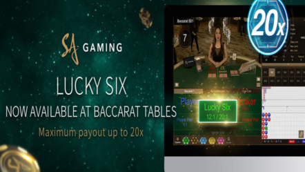 "SA Gaming launches new feature for Baccarat: ""Lucky Six"""