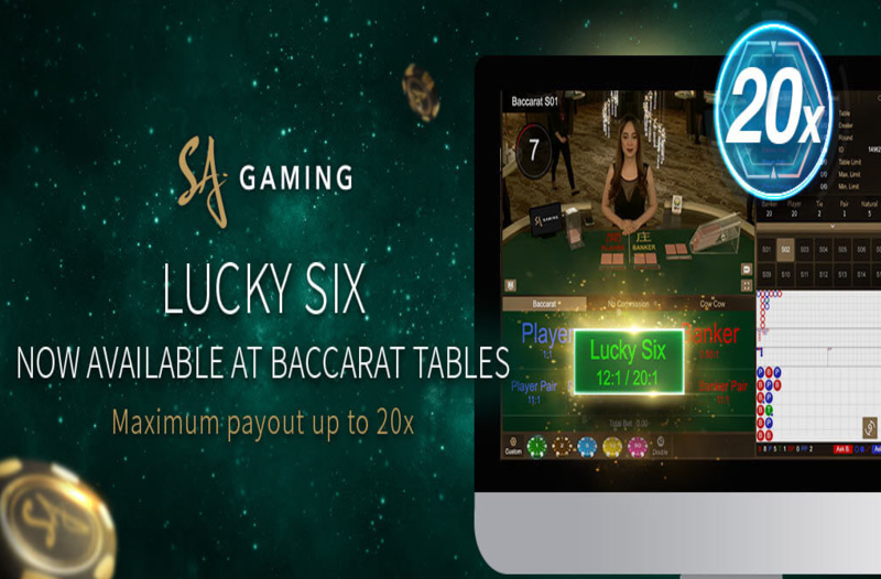 """SA Gaming launches new feature for Baccarat: """"Lucky Six"""""""
