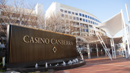 Casino Canberra to reopen today