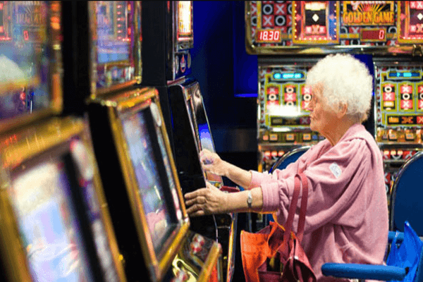 Why older people so fond of slot games?
