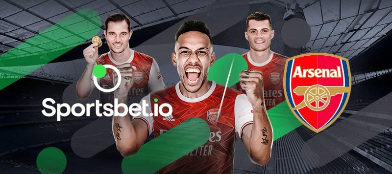Sportsbet.io signs new deal with Arsenal