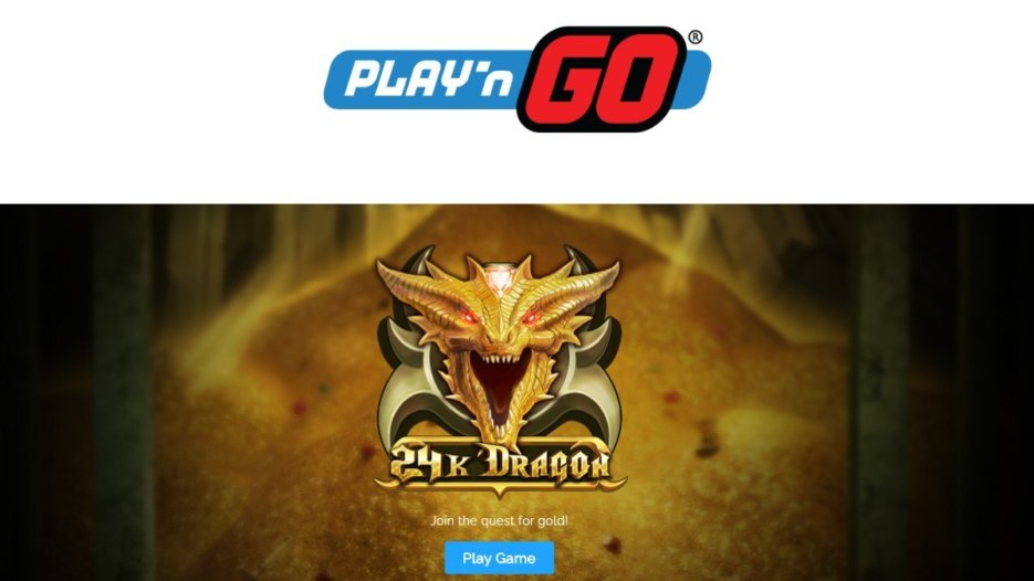 Play'n GO release new slot game 24K Dragon