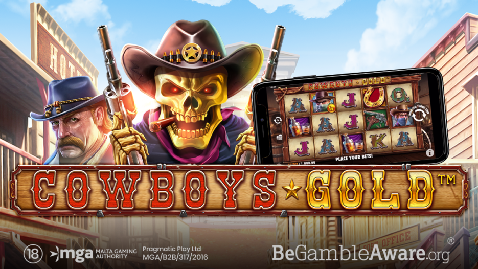 Pragmatic Play launches latest slot game Cowboys Gold