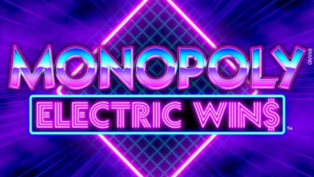 """Monopoly Electric Wins"" produced by WMS: Betrnk Slot Features"