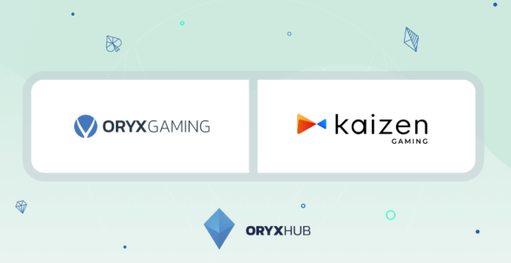 ORYX Gaming Inks Content Deal with Kaizen Gaming