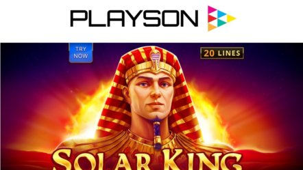 Playson release new slot game Solar King
