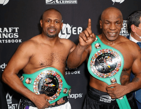 Mike Tyson vs. Roy Jones Jr. Exhibition Match Ends in a Draw