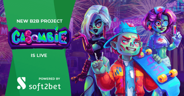 Soft2Bet Unveils its Newest Undead-themed Brand Casombie