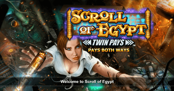 Inspired Entertainment Adds Scroll Of Egypt to its Outstanding Portfolio