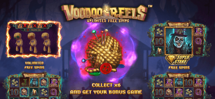 Stakelogic Takes Players to the Heart of Sinister with 'Voodoo Reels™ Unlimited Free Spins'