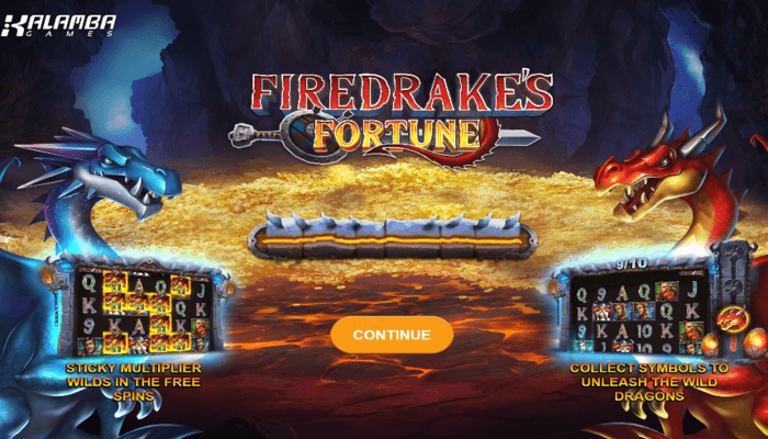 Kalamba Games unleashes an epic title 'Firedrake's Fortune'