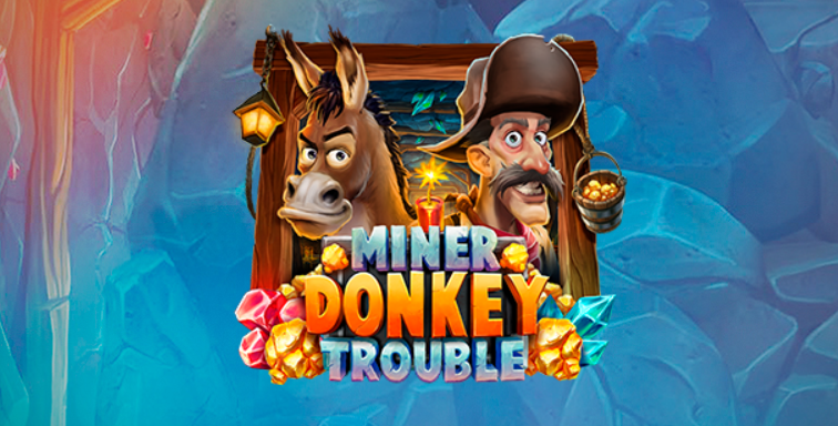 Play'n Go releases an exciting underground adventure, Miner Donkey Trouble