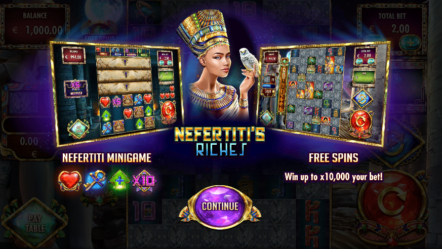 "Red Rake Gaming launches Nefertiti's Riches featuring ""MillionWays: 1 million ways to win"""