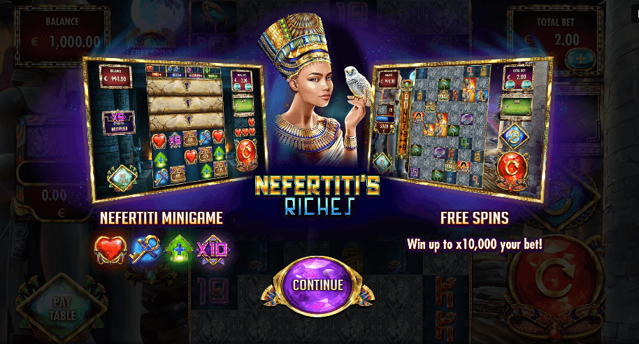 """Red Rake Gaming launches Nefertiti's Riches featuring """"MillionWays: 1 million ways to win"""""""