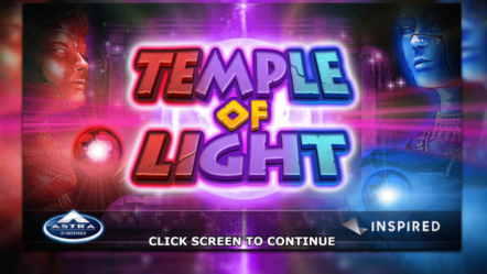 Inspired announce launch of new slot offer Temple of Light