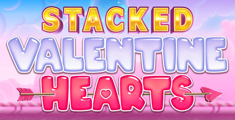Inspired release online and mobile slot game Stacked Valentine Hearts