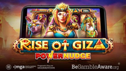 Pragmatic Play introduce new slot game Rise of Giza Powernudge