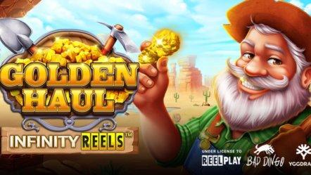 Yggdrasil and ReelPlay release Bad Dingo's Golden Haul Infinity Reels
