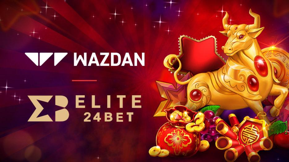 Wazdan goes live with Elite24Bet